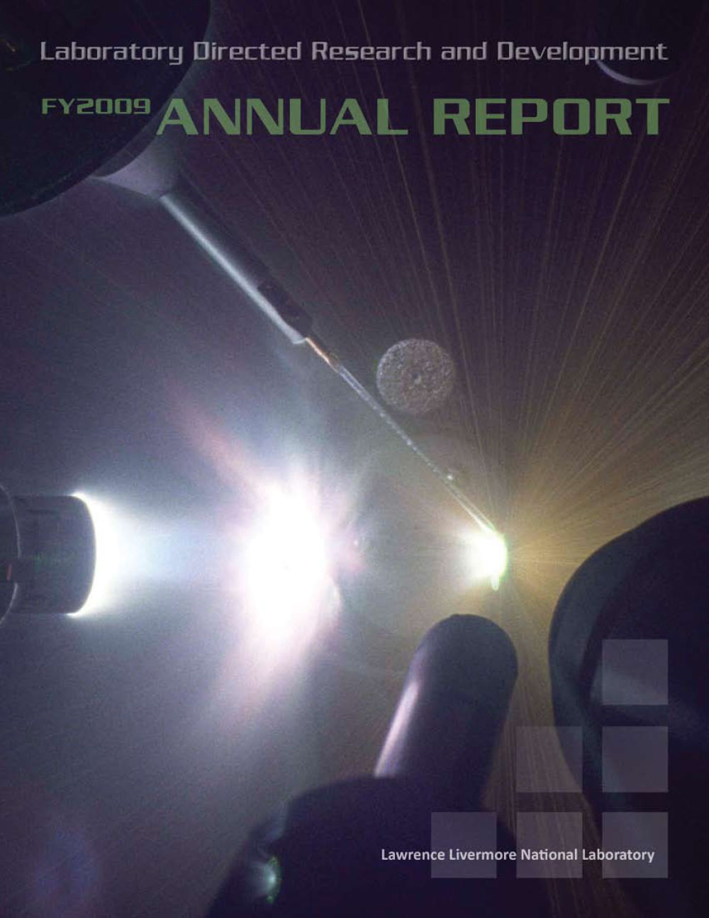CoverofLLNLFY2009LDRD-AnnualReport