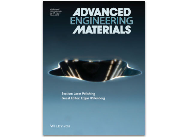 Livermore ldrd researcher manyalibo matthews and colleagues describe the techniques they developed to remove surface flaws on laser optics using localized infrared laser heating in a cover article for the march 2015 issue of advanced engineering materials.