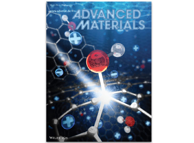 Featured on the cover of the march 4, 2015 issue of advanced materials is research by a team of livermore researchers and colleagues at lawrence berkeley national laboratory and the national institute of advanced industrial science and technology in japan.