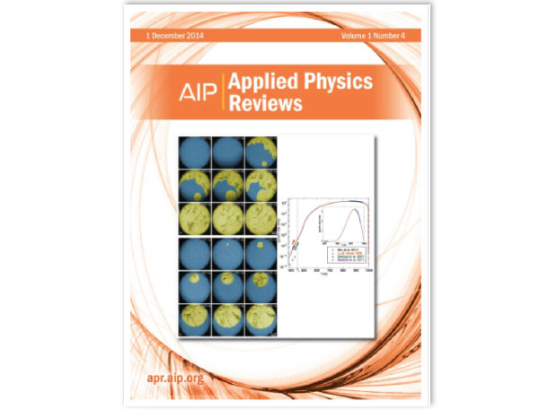 The december 1, 2014 edition of applied physics reviews features on its cover an invited review paper describing the developments and scientific application of the dynamic transmission electron microscope.