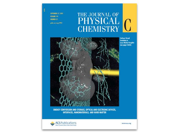 A september 2015 issue of the journal of physical chemistry c featured research by ldrd investigator nir goldman and colleague christopher cannella, an undergraduate summer researcher from caltech, on a way to create linear chains of carbon atoms from laser-melted graphite.