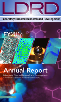 LDRD Annual 2016 cover