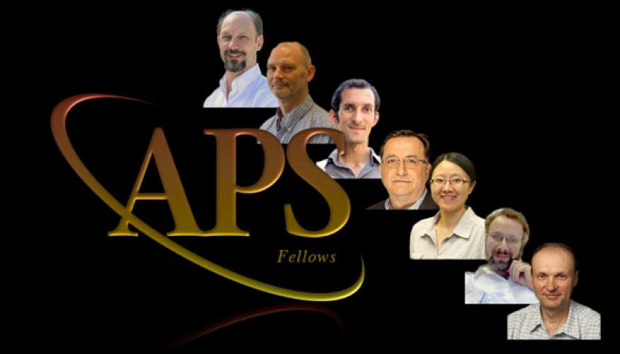 Lawrence livermore ldrd researchers (from top) fred streitz, damian swift, pierre michel, stavros demos, yuan ping, lee bernstein, and vladimir smalyuk have been selected as 2015 fellows of the american physical society.